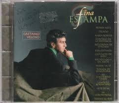 Cd Caetano Veloso - Fina Estampa