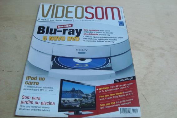 Revista Video Som 120 / Tudo Sobre Blu Ray iPod No Carro Lcd