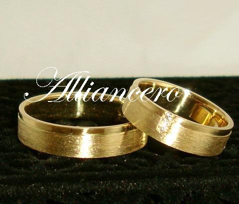 Aliança Ouro 18k 11gr - Frete Gratis - Casamento Alliancero