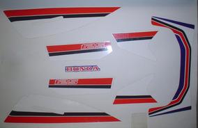 Kit Adesivos Honda Turuna 125 1985 Azul