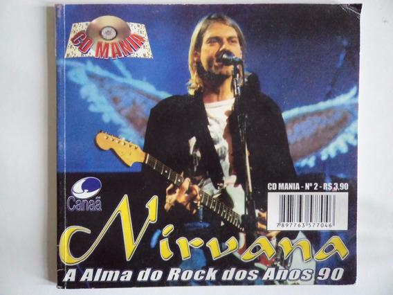 Livreto Cd Mania Nirvana (pocket)