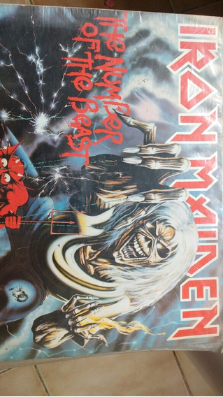 Disco De Vinil- Iron Maiden, The Number Of The Beast