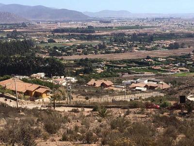 Espectacular Terreno Cerro Grande La Serena, Hermosa Vista 2.500 M2, Con Agua Y Electricidad