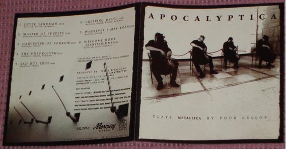 Apocalyptica Plays Metallica 1996 Nacional Excelente