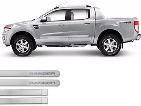 Jgo Friso Lateral Na Cor Do Carro Ford Ranger 2013 A 2015