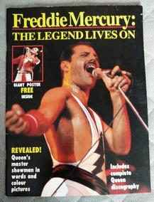 Revista Freddie Mercury: The Legends Lives On