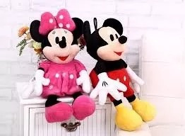 Mega Oferta Mickey + Minnie Vermelha Ou Rosa Pronta Entrega!