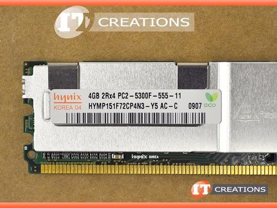 Memoria Servidor Hp Ibm 4gb 2rx4 Pc2-5300f Ddr2 Ecc Fbdimm