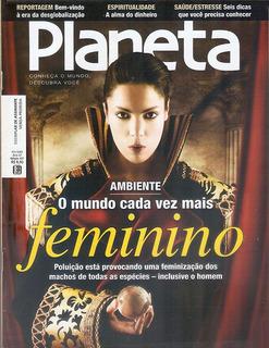 Revista Planeta Mundo Cada Vez Mais Feminino Fevereiro 2009.
