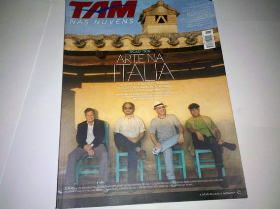 Revista Tam Nas Nuvens. Arte Na Itália. N° 46