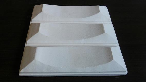 Molde Forma De Silicone Para Gesso 3d 25x25 Atm96