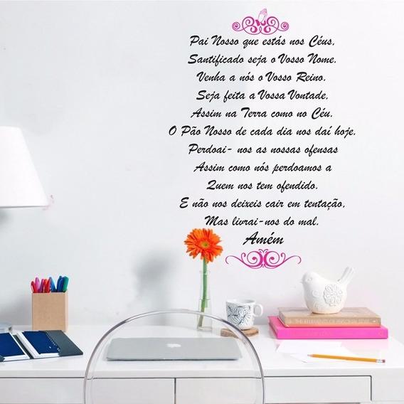 Adesivo Decorativo Oração Pai Nosso (050x070)cm