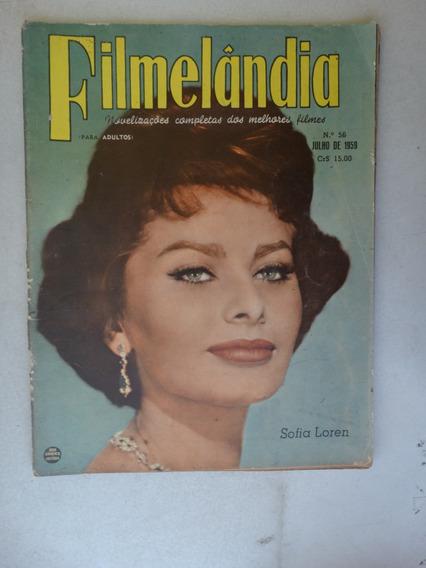 Filmelândia Nº 56! Rge Julho 1959!