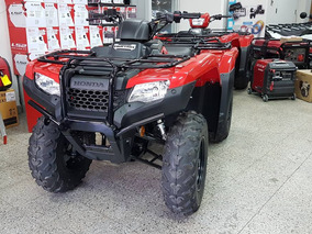 Jm-atv Honda Rancher Trx 420 4x2400 Km Linea Nueva Inyection