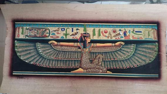 Papiro Egípcio Importado, Original, Decorativo ! - Asas.