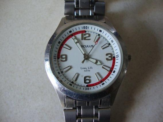 Relógio De Pulso Marca Seculus Long Life .