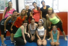 Zumba Salsa Clases Baile Sras/es Nenas Caballit Flores Almag
