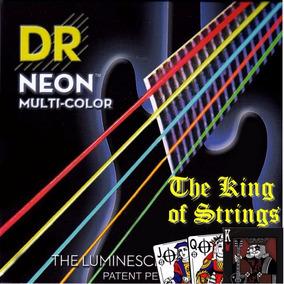 Encordoamento P/ Baixo De 5 Cordas Dr Neon - Multi .45