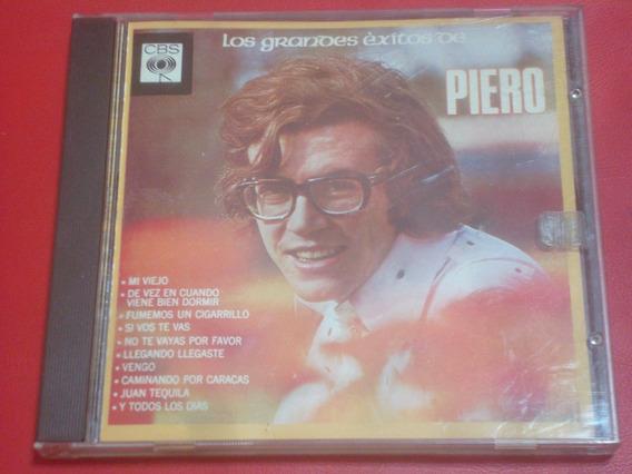 Piero - Los Grandes Exitos De Piero (cd Excelente)