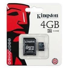 Cartão De Memoria 4gb Kingston