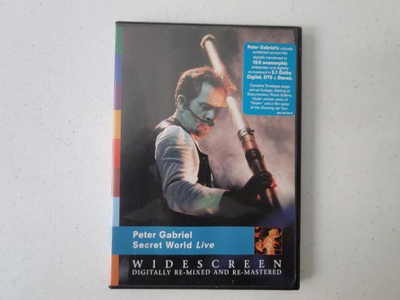 Dvd Peter Gabriel Secret World Live - Importado - Original