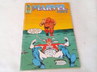 Hq - Gibi - Marvel Force Nº 5 Ano 1991