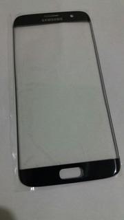 Vidro Frontal Samsung Galaxy S7 Edge G935 Tela Visor Preto
