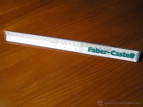 Imagen 1 de 3 de Escalimetro Faber Castell Escolar Original