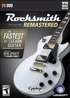 Rocksmith 2014 Edition Remastered +cable Pc Dvd Nuevo