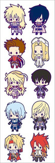 Plancha De Stickers Anime De Tales Of Destiny Xillia Abyss 1