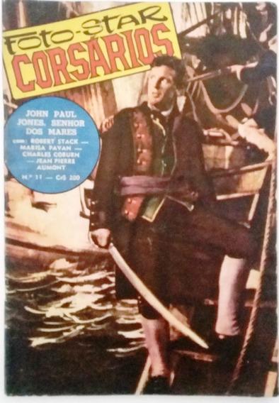 Revista Foto Star Corsários N°11 Editora Ediex - J.p. Aumont