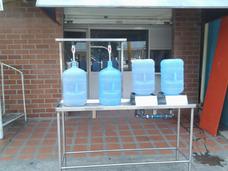 Lavadoras Y Llenadoras De Botellones De Agua En Acero Inox
