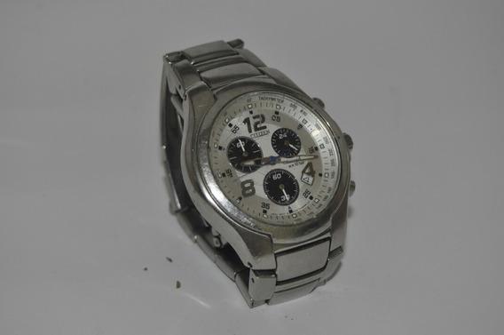 Relógio Citizen Cronografo F-500 - Máquina Do Tempo