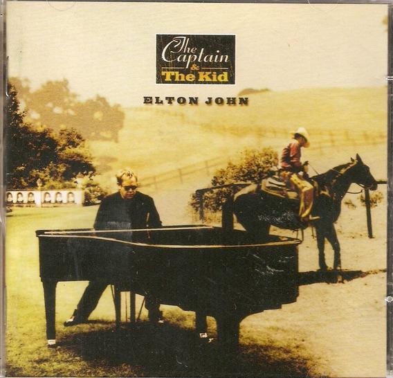 Cd Elton John - The Captain E The Kid - Novo***