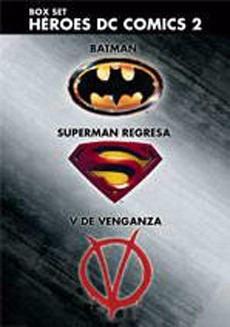 Imagen 1 de 1 de Boxset Heroes Dc 2 Batman Supe V De Venganza Dvd - O