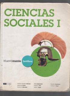 Ciencias Sociales 1 Nuevamente Santillana