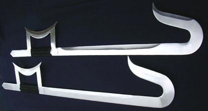 Shuanggou Funcional Doble Espada Ganchos Chinos Kung Fu