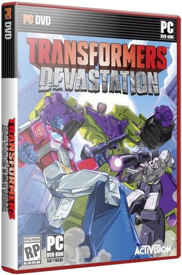 Transformers Devastation + Dlc Bunde - Pc Dvd - Frete 8 R$