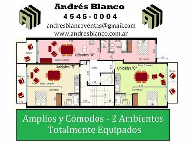 Dos Ambientes A Estrenar Dormitorio En Suite Y Cochera