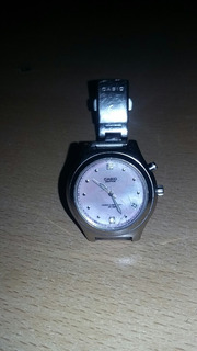 Reloj Casio Original, Sumergible Con 2 Brillantes