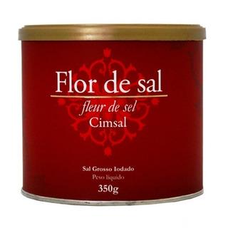 Kit 4 Potes De Flor De Sal 350g - Cimsal
