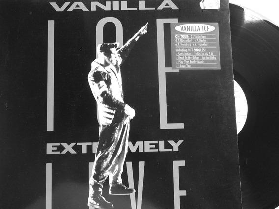 Vanilla Ice - Extremely Live- Acetato Importado.