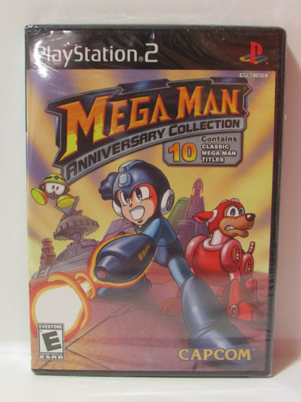 Play 2: Megaman Anniversary Collection Original E Lacrado