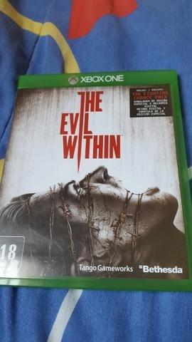The Evil Within Xbox One Jogo Game Xone Mídia Física