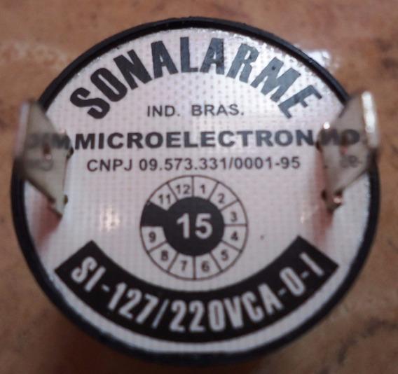 Sirenes Sonalarme - Microelectron Bivolt 127 V / 220 V
