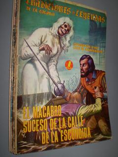 Tradiciones Y Leyendas De La Colonia Antiguo Comic De Terror