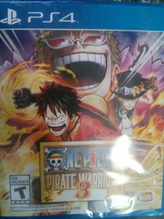 One Piece Pirate Warriors 3 Ps4 Sellado Delivery Stock Ya