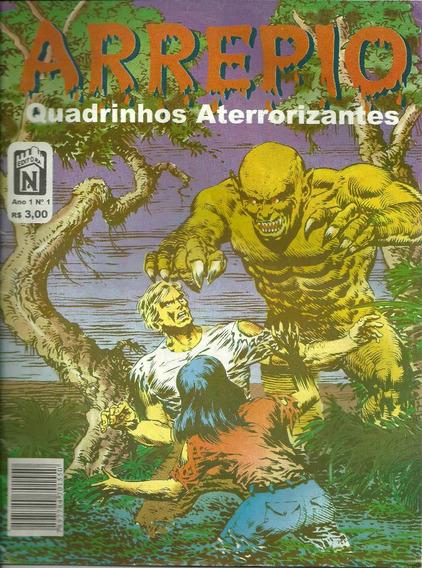 Revista Arrepio - Quadrinhos Eletrizantes #01