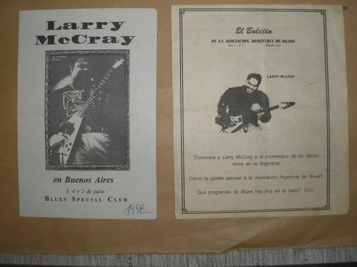 Larry Mc Cray...(guitarrista De Blues...)