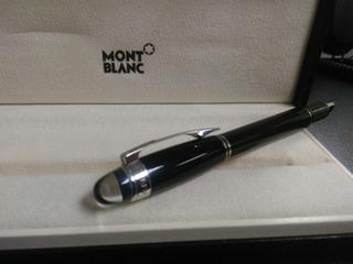 Remate Montblanc Starwalker Black Resin Fountain Pen